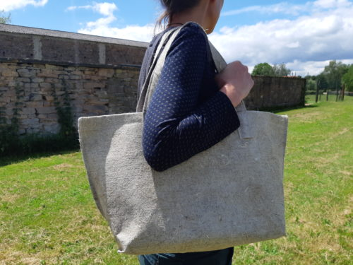 Sac cabas Géochanvre 100% chanvre 100%Made in France