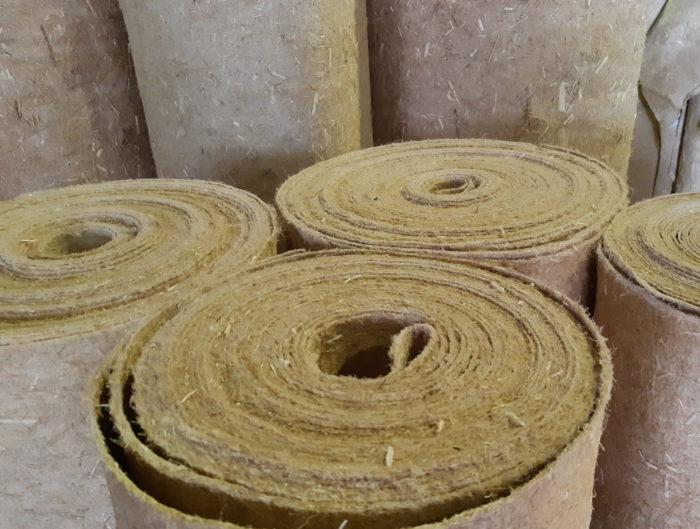 Toiles de paillage Géochanvre biodégradable 100% chanvre