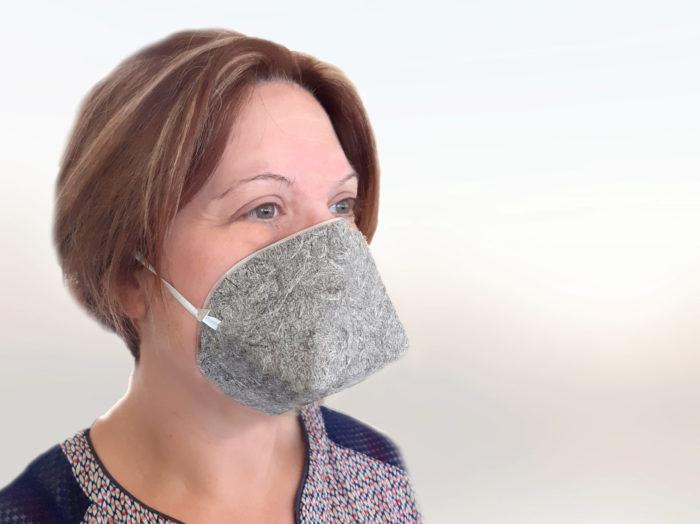 Masque UNS1 Géochanvre Biocompostable