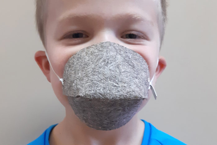 Masque Enfant Biocompostable UNS1