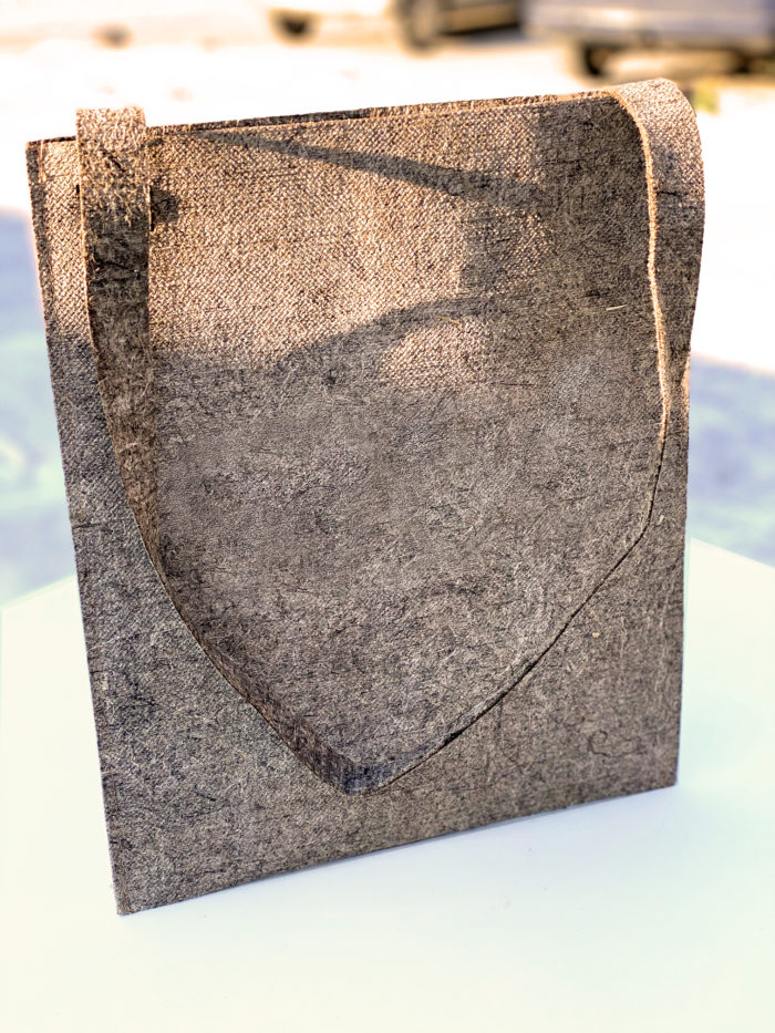 tote bag eco-conçu 100% chanvre naturel made in france